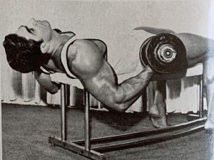 Dennis Tinerino curls bodybuilding
