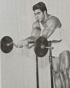 Dennis Tinerino preacher curl bodybuilding