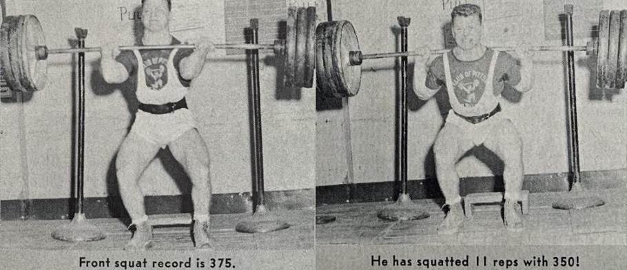 russ knipp weightlifting workout