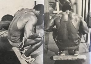 serge nubret squat leg workout
