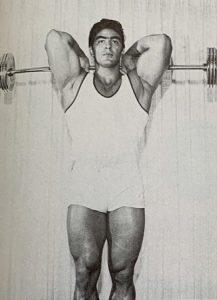 Dennis Tinerino triceps workout