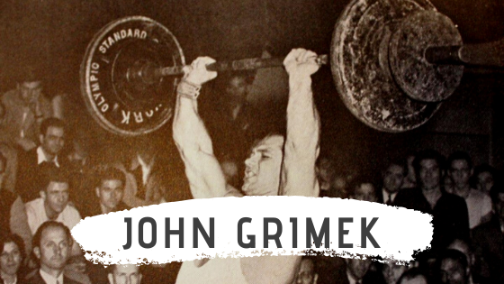 john grimek weightlifting workout