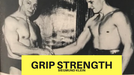 oldschool grip training