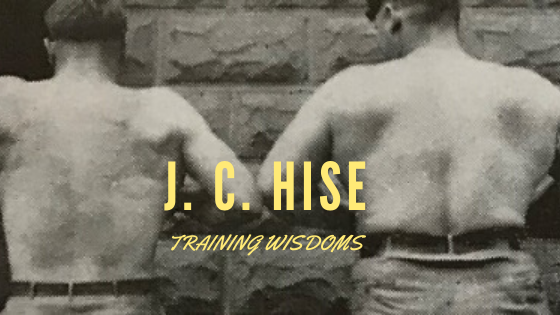 joseph curtis hise training