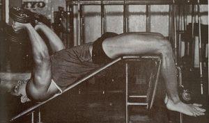 dumbbell pullover rib cage training dennis tinerino