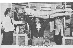 isaac berger weightlifting