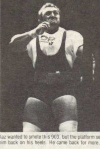 Bill Kazmaier strongman