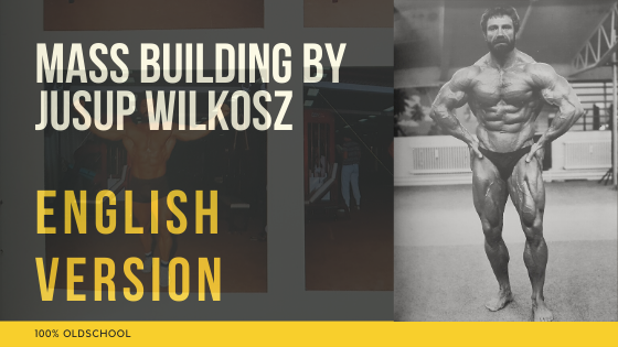 jusup wilkosz mass building workout book