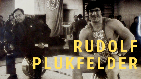 Rudolf Plukfelder weightlifter workout