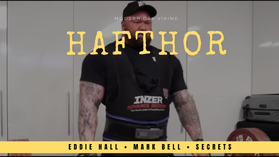 Hafthor Julius Bjornsson deadlift 501kg training