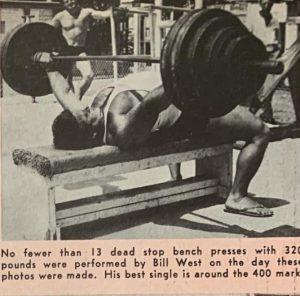 bill west benchpress