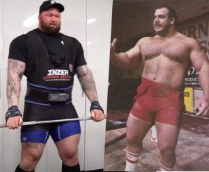 hafthor bjornsson inzer suit strongman