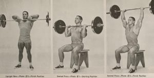 bill pearl shoulder training oldschool