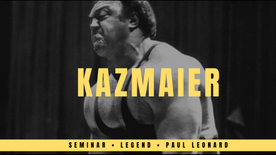 bill kazmaier seminar review