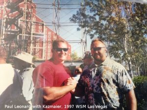 Paul Leonard Bill Kazmaier strongman