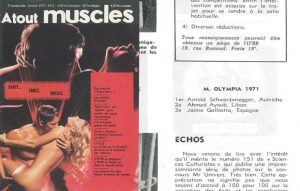 1971 Mr Olympia results competitors