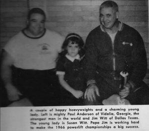 Jim Witt Paul Anderson Powerlifting oldschool