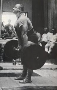 John Kanter 680lb deadlift 70s powerlifting