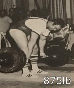 John Kuc 875lb deadlift 70s powerlifting