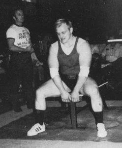 John Kanter Bench Press 70s powerlifting