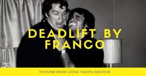franco columbo arnold deadlift