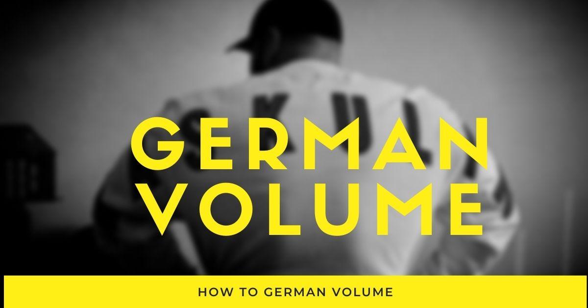 german volume training results