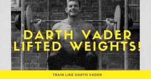 darth vader weightlifting