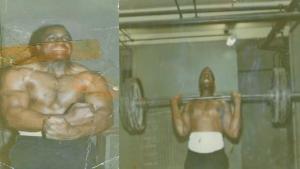 Big Jim Williams Military Press training