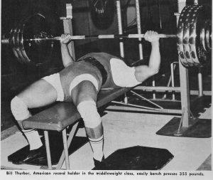 Bill Thurber 355lb bench press