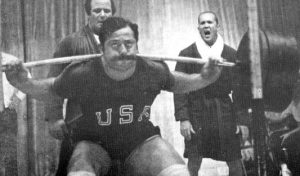 George Frenn 819lb squat 70s powerlifting