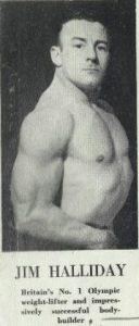 Jim Halliday Prisoner of War weight lifting bodybuilding