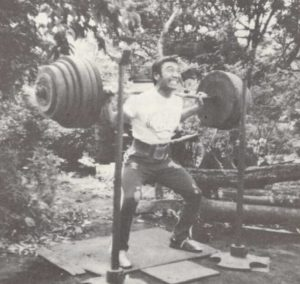 Hideaki Inaba powerlifter