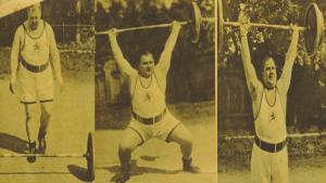 Josef Strassberger germany weightlifter strongman oldschool