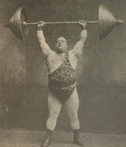 Karl Moerke Jerking 375 lb
