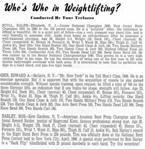 1940 Weight Lifter Oldschool