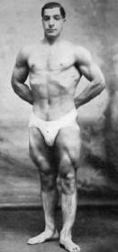 William Gerardi Strongman with big legs oldschool