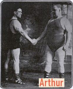Arthur Giroux oldschool weightlifter