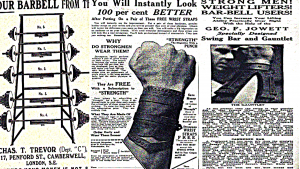 Lifting Gear Advertisement Oldschool