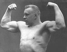 George Lurich oldschool strongman