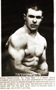 George Hackenschmidt press