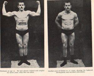 Young Hermann Goerner Strongman