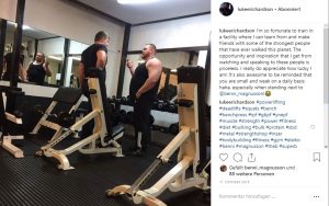 Luke Richardson Strongman Benedikt Magnusson