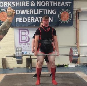 Luke Richardson First Competition 2016
