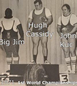 Hugh Cassidy Big Jim Williams John Kuc 70s powerlifting