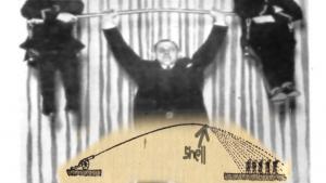 Hermann Goerner Shell Shrapnel survivor strongman world war