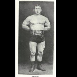 John Lemm oldschool strongman wrestler