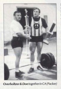Tom Overholtzer 70s powerlifting