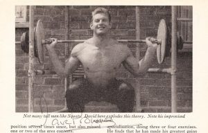 david prowse training