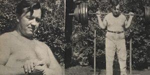 William Boone oldschool powerlifter