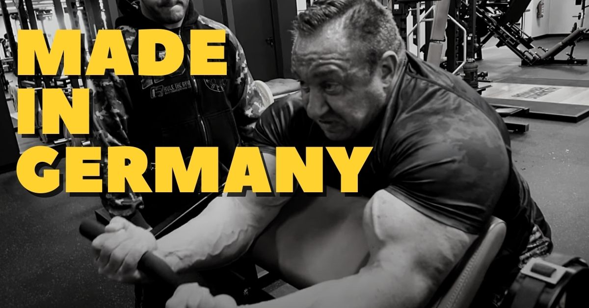 markus ruhl arm workout size training